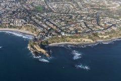 Dana Point Mussel Cove Aerial Lizenzfreie Stockbilder