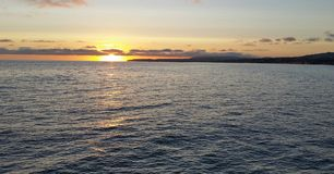 Dana Point Sunset Stock Photo