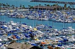 Dana Point. View of Dana Point Marina in California stock photo