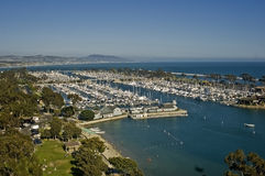 Dana Point Yacht Harbor Royalty Free Stock Photo