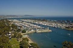 Dana Point Yacht Harbor Royalty Free Stock Photo