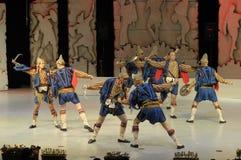 Dança popular Fotografia de Stock