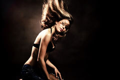 Dança quente Imagem de Stock Royalty Free