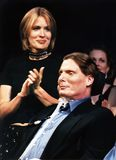 Dana Reeve e Christopher Reeve Fotos de Stock