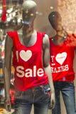 Jag älskar Sale Royaltyfri Bild