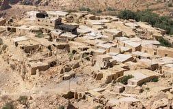 Dana traditioneel dorp in Jordanië royalty-vrije stock foto