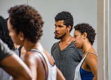 Danabierta,一个先驱舞蹈团在哈瓦那,实践Th 库存照片