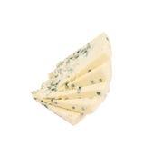 Danablue danish blue cheese isolated Royalty Free Stock Photo