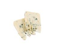 Danablue danish blue cheese isolated Stock Image
