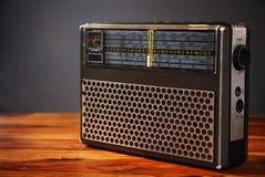 danad gammal radio Arkivfoto