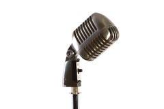 danad gammal tappning för mikrofon arkivbilder