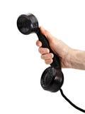danad gammal telefon för telefonlur Royaltyfria Foton