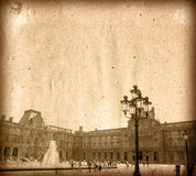 danade france gammala paris Arkivbild
