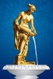 Danaid, alte Skulptur, Brunnen Lizenzfreie Abbildung