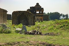 Danaik Enclosure in Hampi, Karnataka, India Royalty Free Stock Photo