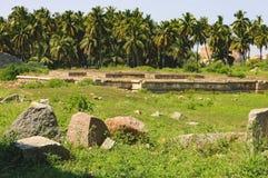 Danaik`s Enclosure in Hampi, Karnataka, India Stock Images