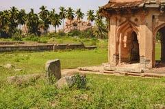 Danaik`s Enclosure in Hampi, Karnataka, India Stock Image