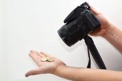 Danandefotoabstraktion Arkivbild
