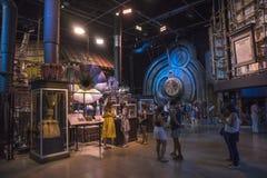 Danandet av Harry Potter i Leavesden arkivfoto