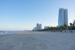 Danang city, Vietnam, beautiful bay. This accommodation is wonderful, beautiful part 2 royalty free stock image