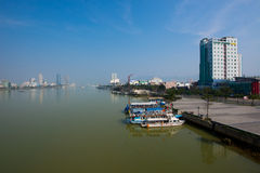 Danang city Royalty Free Stock Photography