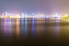 Danang City in Vietnam Royalty Free Stock Photo