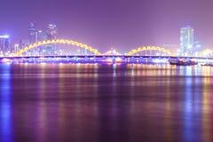 Danang City in Vietnam Royalty Free Stock Image