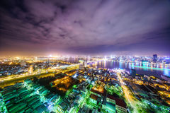 Danang City in Vietnam Royalty Free Stock Images