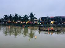 Danang Hoi An Town Photo stock