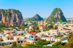 Danang marble mountains, Da Nang. Danang marble mountains is the most important tourist destination in Da Nang city in Vietnam stock photos