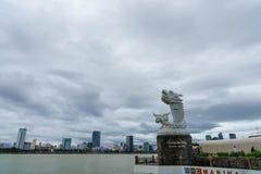 Danang-Stadt in Vietnam Lizenzfreies Stockbild