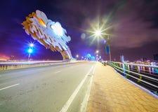 Danang-Stadt in Vietnam Stockbild