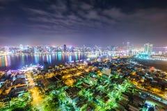 Danang-Stadt in Vietnam Stockbilder