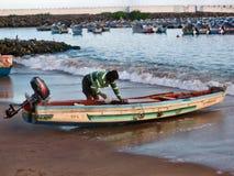 Danang-Strand, Vietnam Lizenzfreie Stockbilder