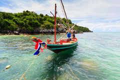 Danang-Strand, Vietnam Stockbild