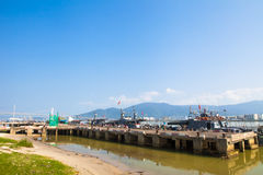 Danang in Vietnam Stockbild