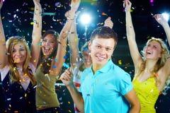 Dançarino considerável Fotografia de Stock Royalty Free