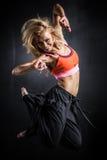 Dançarino da aptidão Imagens de Stock
