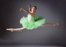 Dançarino de bailado fêmea Imagem de Stock Royalty Free