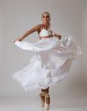 Dançarino de bailado novo Imagens de Stock Royalty Free