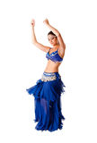 Dançarino de barriga da beleza Fotografia de Stock Royalty Free