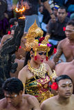 Dançarino do Balinese Fotos de Stock Royalty Free