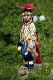 Dançarino indiano Blackfoot novo Foto de Stock Royalty Free