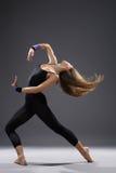 Dançarino moderno do estilo Fotografia de Stock