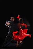 Dançarino na ação Fotos de Stock Royalty Free