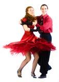 Dançarinos da Dança-voogie Imagens de Stock