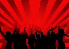 Dançarinos do disco Imagem de Stock