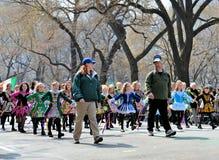 Dançarinos irlandeses pequenos Foto de Stock Royalty Free