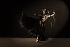 Dançarinos no salão de baile Imagens de Stock Royalty Free