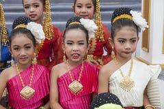 Dançarinos tailandeses novos Imagens de Stock